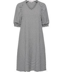 mate 2/4 dress kort klänning svart soft rebels
