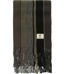 bufanda negra mistral irregular manu tres