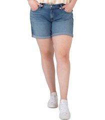 silver jeans co. plus size boyfriend shorts