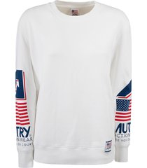 autry printed sleeves sweatshirt