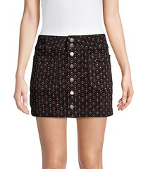 joani cord mini skirt