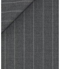 gilet da uomo su misura, reda, natural stretch grigio gessato, primavera estate | lanieri