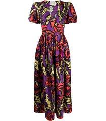 la doublej persephone long dress - purple