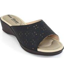 priceshoes sandalia confort dama 472116negro