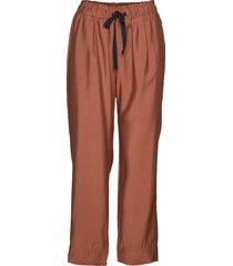 breeze hw trousers wijde broek oranje second female