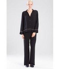 sensory pajamas, women's, grey, size xs, josie natori