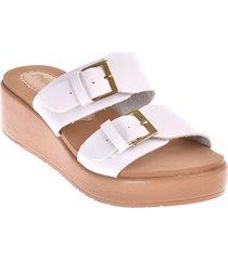 priceshoes sandalia confort dama 752stellablanco