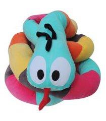 rolo montessoriano para berço e mini cama 5m colo de máe minhoca colorida