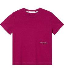 t-shirt monogram rood