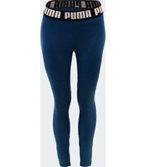 legging puma train favorite elastic azul feminina