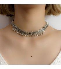 collana di choker di moda collana di clavicalis per le donne