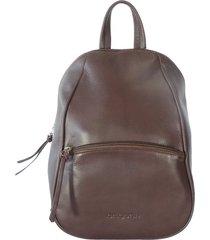 mochila marrón briganti bosario
