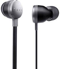 audifonos alámbricos in-ear con micrófono fiil bestie - plata