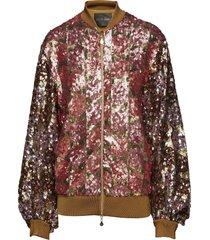 clive, 443 sequins jacket bomberjacka rosa stine goya
