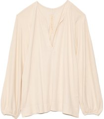 getty blouse in dirty white