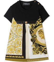 young versace multicolor dress