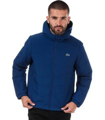 mens collapsible water-resistant quilted jacket