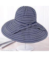 sombrero para mujer, l sol del verano del las sombrero-gris