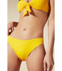 calzedonia indonesia invisible seam bikini bottoms woman yellow size 5