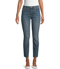 l'agence women's high rise straight jeans - lagoon - size 24 (0)