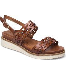 woms sandals shoes summer shoes flat sandals brun tamaris