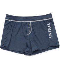tommy hilfiger women's jersey pajama shorts
