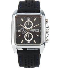 orologio da uomo bosck in plastica casual con quadrante in acciaio inossidabile