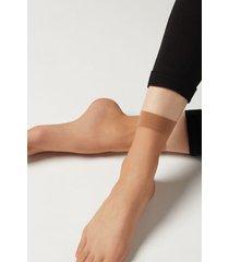 calzedonia 8 denier ultra sheer socks woman nude size tu