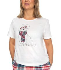 trofe cotton pyjama t-shirt