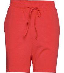 linda shorts shorts flowy shorts/casual shorts röd kaffe