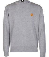 grey wool sweatshirt
