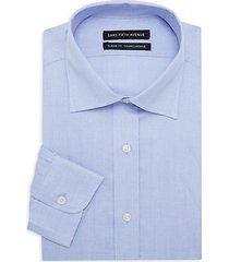 classic-fit textured dress shirt
