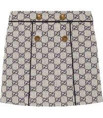gucci girl white skirt