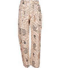 isabel marant étoile noferis printed trousers