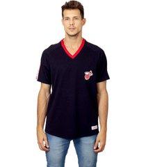 camiseta mitchell & ness especial miami heat preta - preto - masculino - dafiti