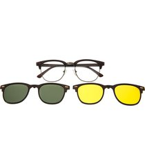 montura de gafas con lente extra (multi) - lvmu0341 - verde