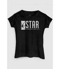 camiseta dc comics the flash serie star laboratories bandup!
