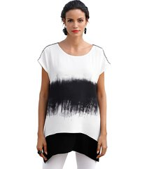 blouse amy vermont zwart::offwhite