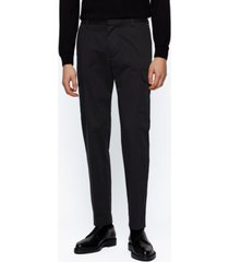 boss men's banks slim-fit cargo trousers
