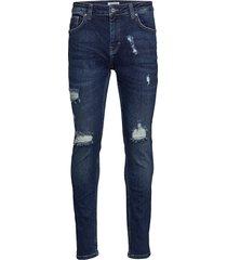 sicko dob skinny jeans blå just junkies
