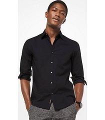camicia slim-fit in cotone stretch