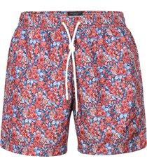eddy monetti floral print drawstring shorts