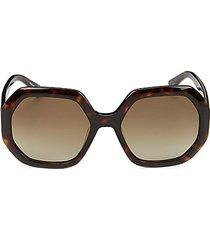 55mm hexagon sunglasses