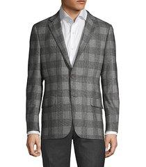 milburn ii plaid wool jacket