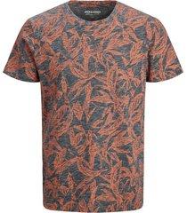 jack & jones t-shirt navy print plus size