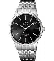 reloj para caballero elegante q&q s280j202y fondo negro