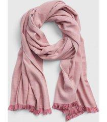 bufanda cozy rosa gap