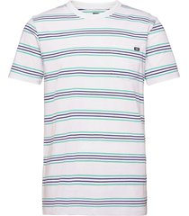 chaparral stripe t-shirts short-sleeved vit vans