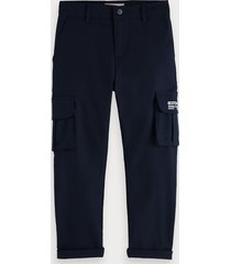 scotch & soda stretch cargo pants loose tapered fit