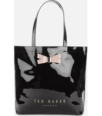 ted baker women's gabycon large tote bag - black